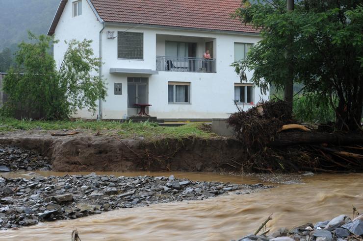 Selo Kozelj poplave jul 2018.