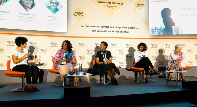 Africa CEO Forum Women in Business Meeting 2018  (Africa women)