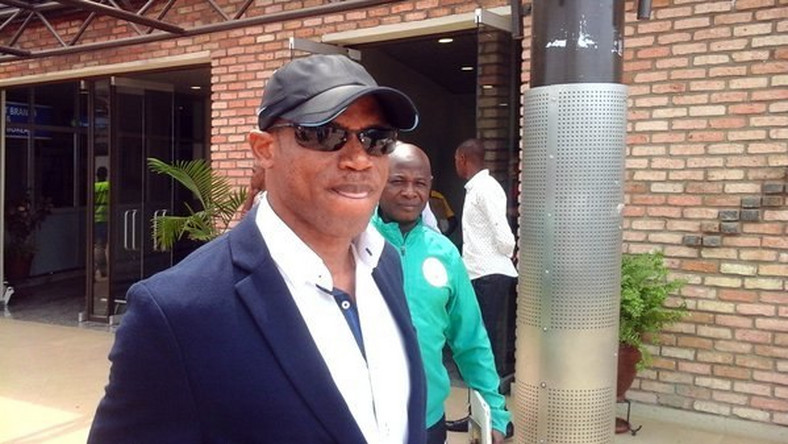 Sunday Oliseh arrives Kigali with Super Eagles team B