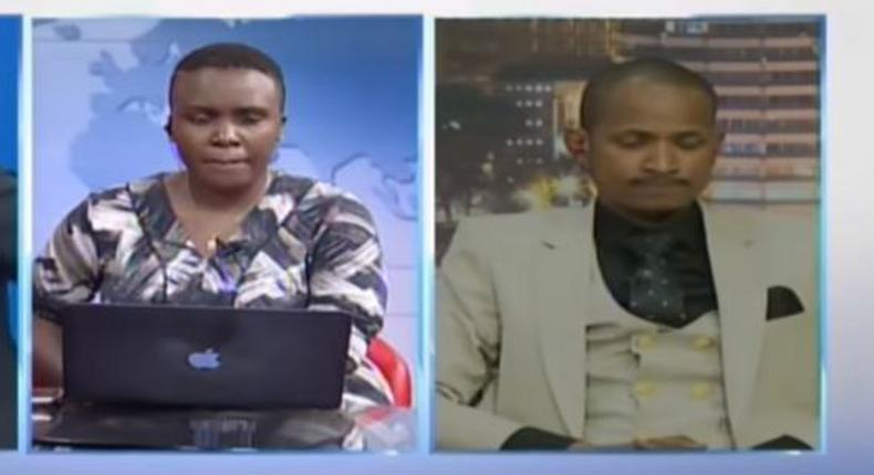 Drama as Babu Owino is nearly kicked out of live interview by KTN News anchor Linda Ogutu