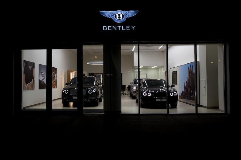 Salon Bentleya w Katowicach