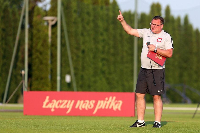 Pilka nozna. Reprezentacja Polski U21. Trening. 11.06.2019