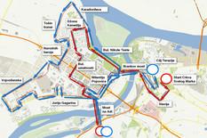 BEOGRAD U BLOKADI Zbog maratona se zatvaraju mnoge ulice, promene na 91 LINIJI GRADSKOG PREVOZA, a ovo su ALTERNATIVE