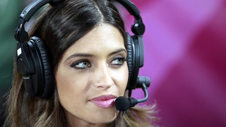 Sara Carbonero towarzyszy swojemu narzeczonemu w czasie Euro 2012