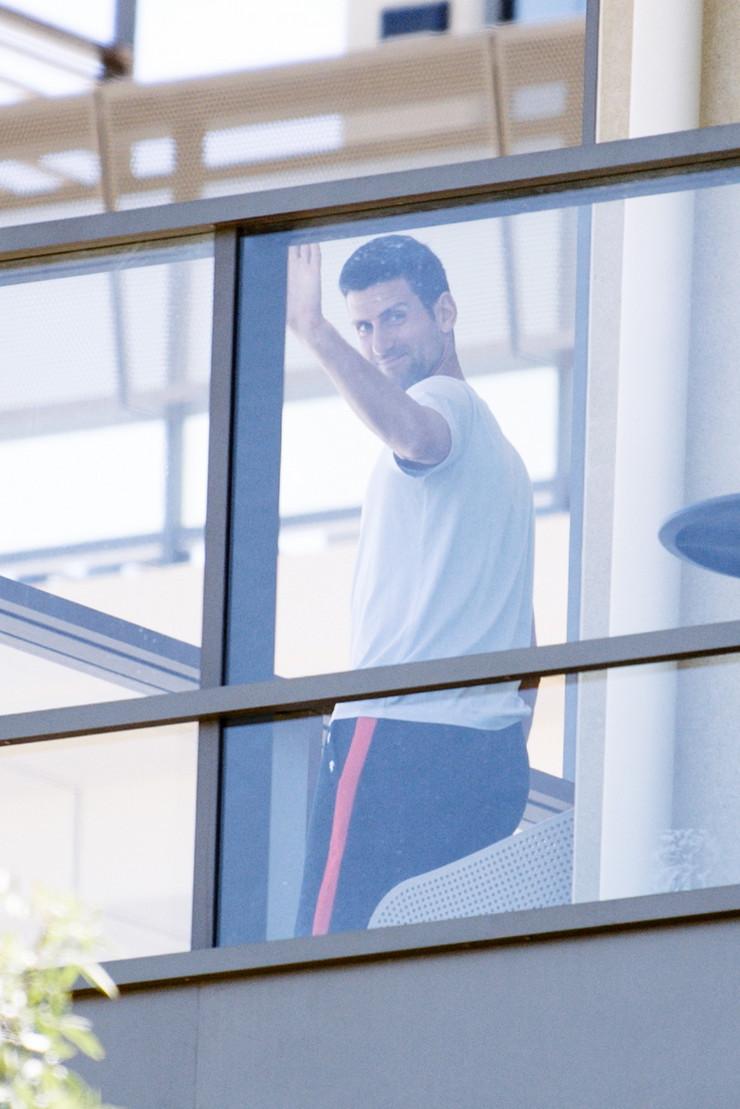 Novak Đoković u Australiji