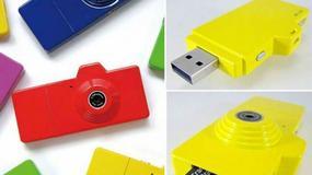 Miniaturowa kamera o wyglądzie pendrive'a