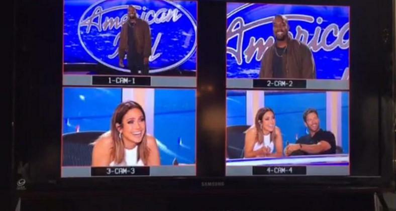 """Kanye West w programie """"American Idol"""""""