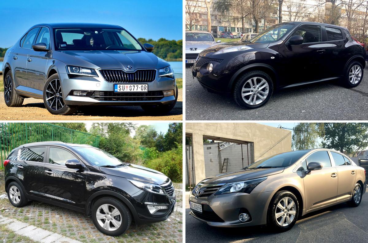 KUPLJEN NOV U SRBIJI Top 10 polovnih automobila koje prodaju PRVI VLASNICI