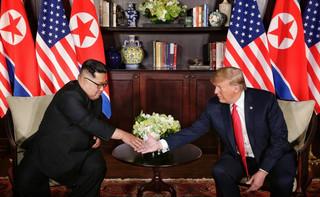 Singapur: Trump zadowolony ze szczytu z Kimem. Zapowiada denuklearyzację
