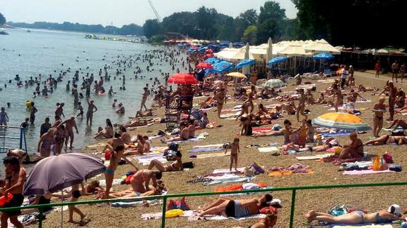 Beogradsko more nezaobilazno tokom leta