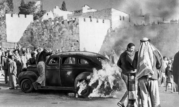 Arabsko-żydowskie starcia w Jerozolimie, grudzień 1947 r.