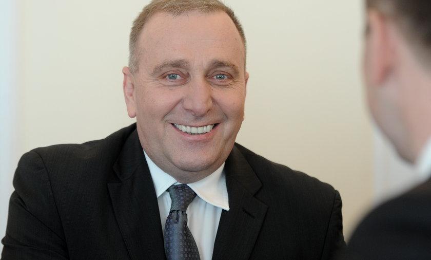 Grzegorz Schetyna, szef MSZ