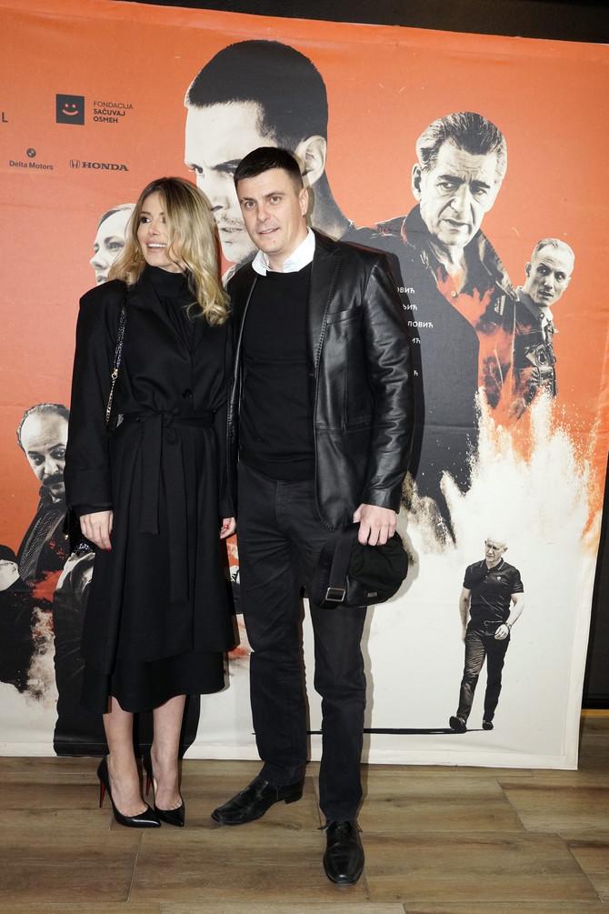 Ana Mihajlovski i Vuk Kostić na premijeri