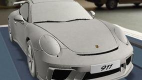 Porsche 911 GT3 - wyciekły zdjęcia modelu