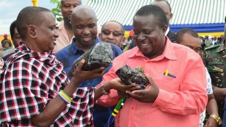 Tanzanijski rudar Tanzania Ministry of minerals