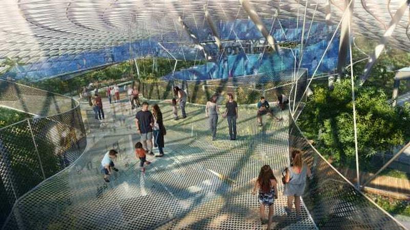Wizualizacja Canopy Park
