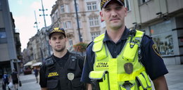 Oręż strażników z Katowic - kamery przy mundurach