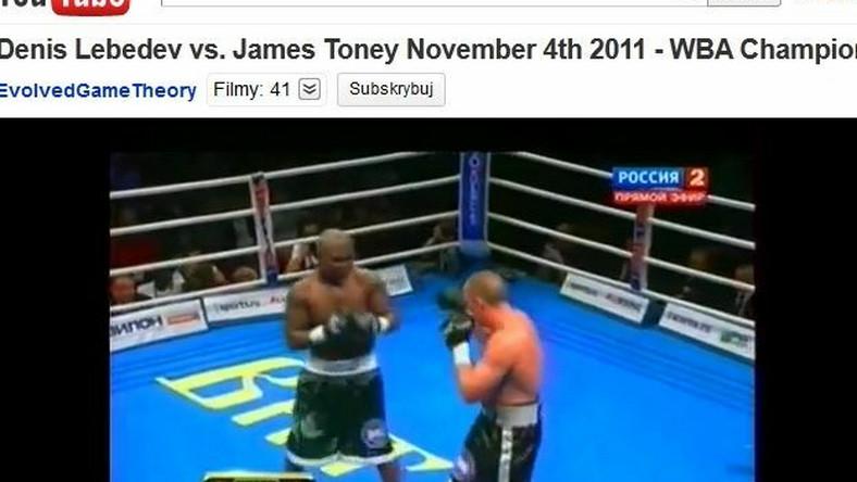 Denis Lebiediew pokonał Jamesa Toneya