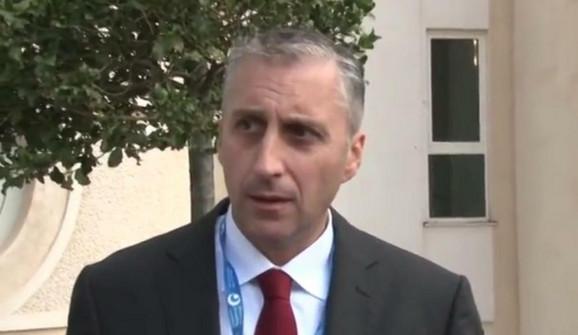 Ivan Mašulović, predstavnik Crne Gore na obeležavanju