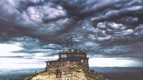 Chmury Asperitas nad Kasprowym Wierchem