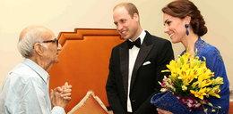 93-latek spotkał się z Kate i Williamem