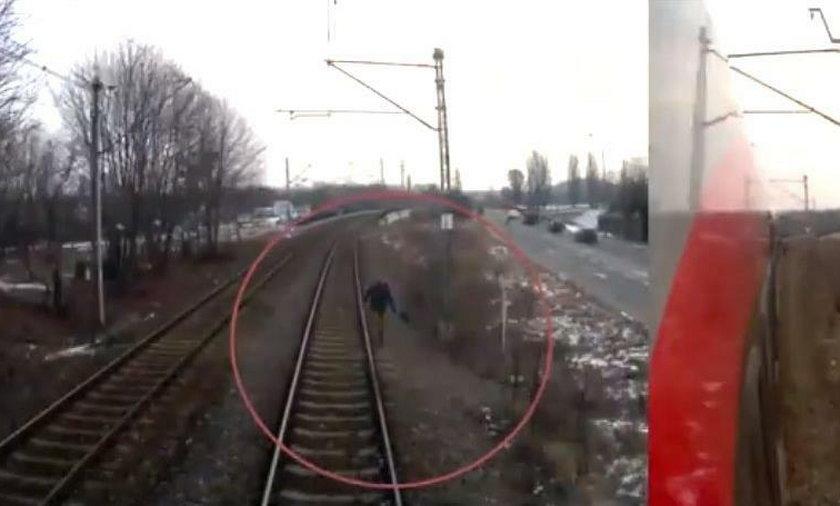 Nagranie mrozi krew w żyłach. Nastolatek wszedł pod pociąg