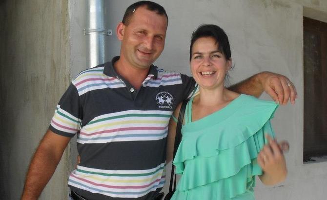 Oksana i suprug Radovan Matić