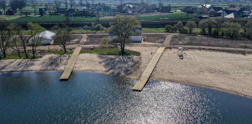 Nowe kąpielisko w Przylasku Rusieckim będzie dostępne już latem