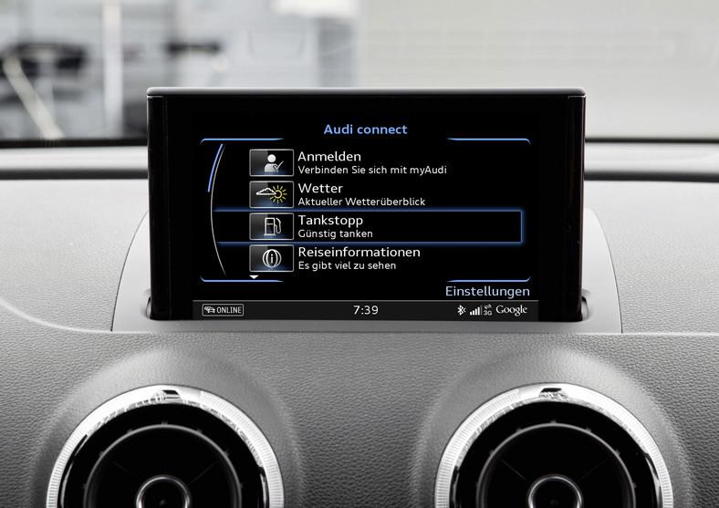 Ekran Audi connect