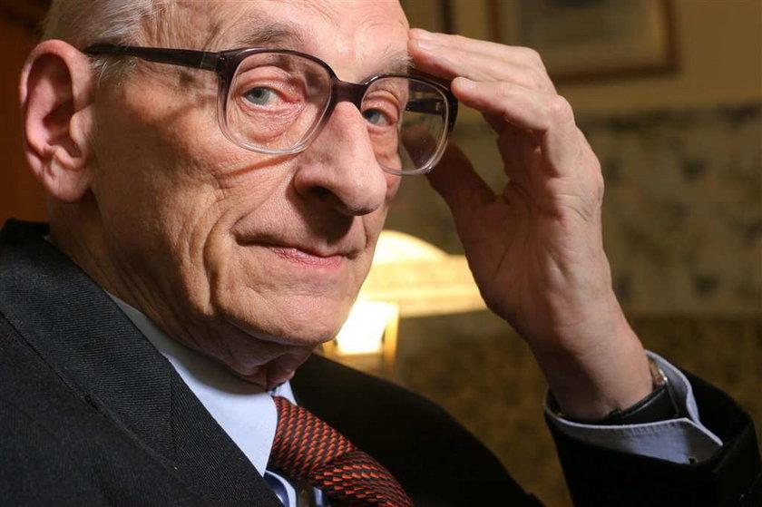 Bartoszewski: Nie bałem się Niemców, tylko Polaków
