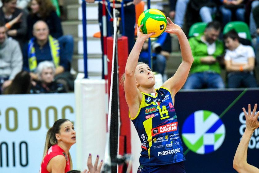 Joanna Wołosz (30 l.), jako jedyna ekipa w Serie A siatkarek rozegrała wszystkie zaplanowane mecze bez konieczności odwoływania ich z powodu koronawirusa.