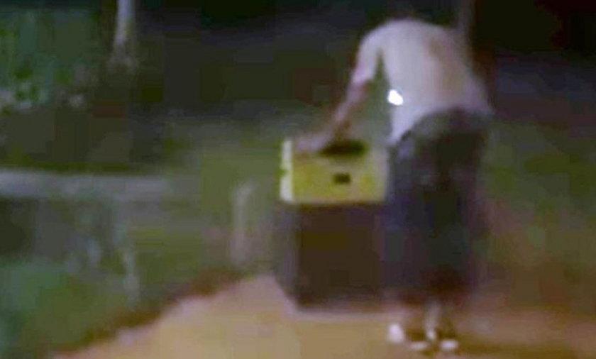 Odnalazł w walizce zgwałconą kobietę