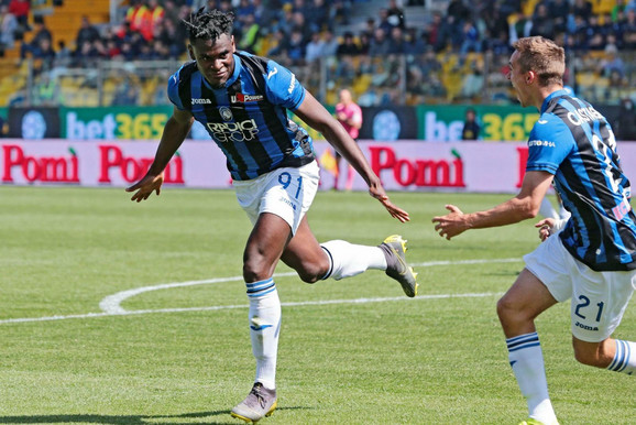 Fenomenalni Zapata je postigao 19 golova u Seriji A i nalazi se na drugom mestu liste strelaca