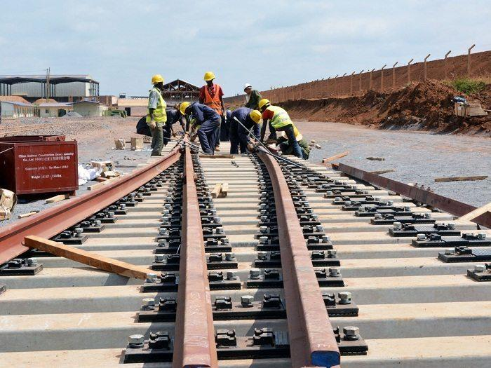 The standard gauge railway