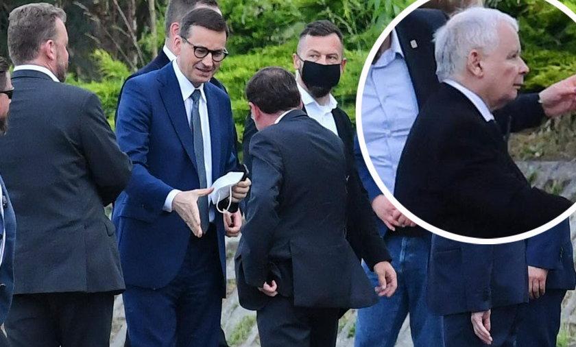 Politycy PiS zebrali się na wyjazdowym posiedzeniu..