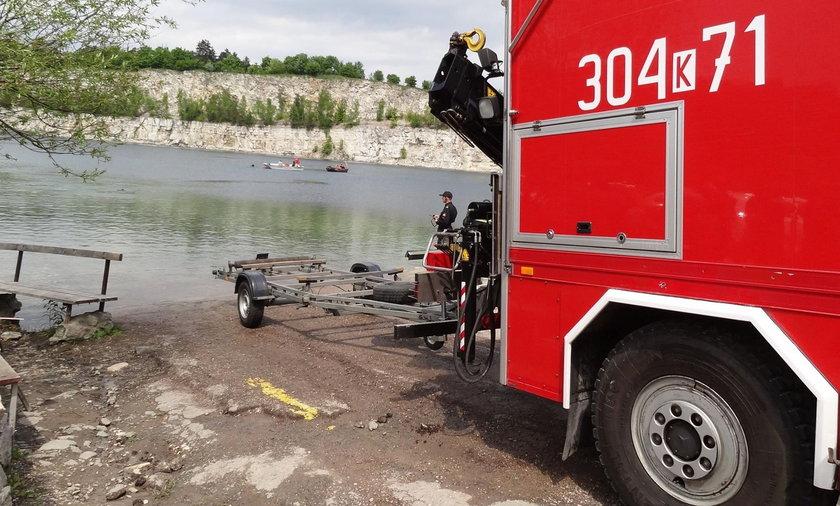 Nurek utopił się w Zakrzówku