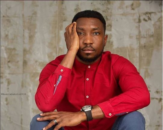 Timi Dakolo is an impressivel rock behind his wife in this trying time, and we stan him. Hard. [Instagram/TimiDakolo]
