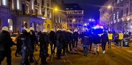 Marsz Niepodległości we Wrocławiu: race, nóż i szabla