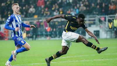 Kenya's Erick Ouma scores first goal for Swedish club, AIK