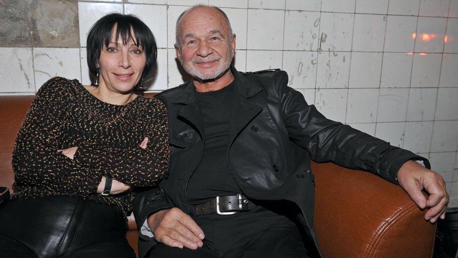 Renata Pałys i Ryszard Kotys w 2008 r.