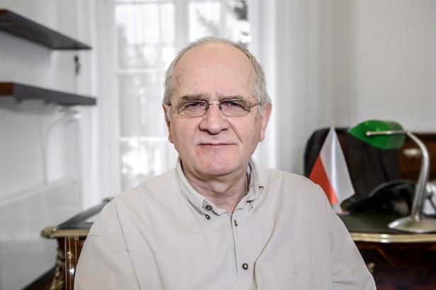 Pełnomocnik rządu ds. przygotowania reformy publicznej radiofonii i telewizji Krzysztof Czabański