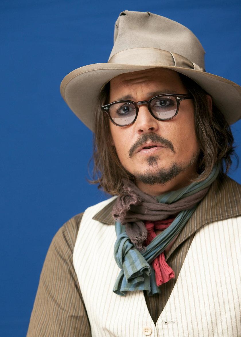Johnny Depp na ściance