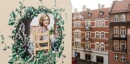Krystyna Bochenek na muralu. Hołd dla katowiczanki w 11. rocznicę tragicznej śmierci