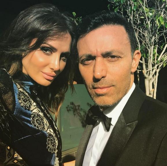 Emina sa bivšim mužem Mustafom