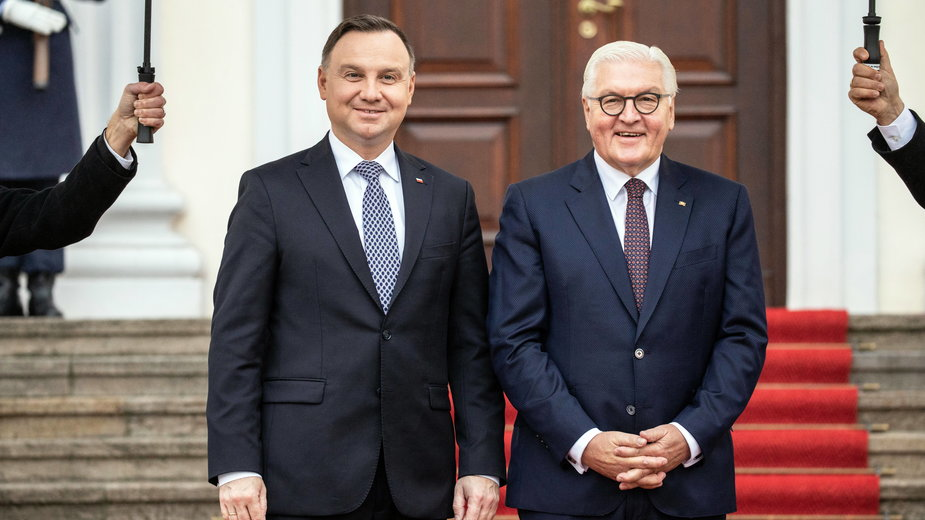 Andrzej Duda i Frank-Walter Steinmeier
