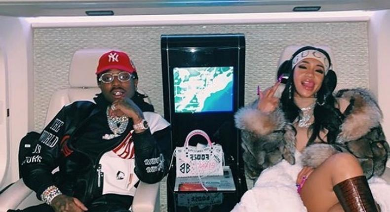 American rapper Quavo and ex-girlfriend Saweetie [Instagram/Sawevo]