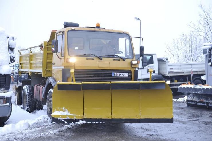 Goran Vesić Vladimir Babić Beograd Prijepolje kamion za čišćenje snega