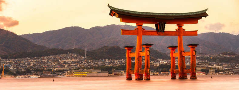 Japonia itsukushima shrine