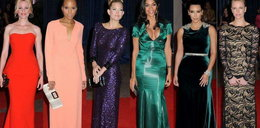 Kolorowo na przyjęciu u prezydenta