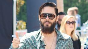 Jared Leto w dziwnej stylizacji. Co on na siebie założył?!